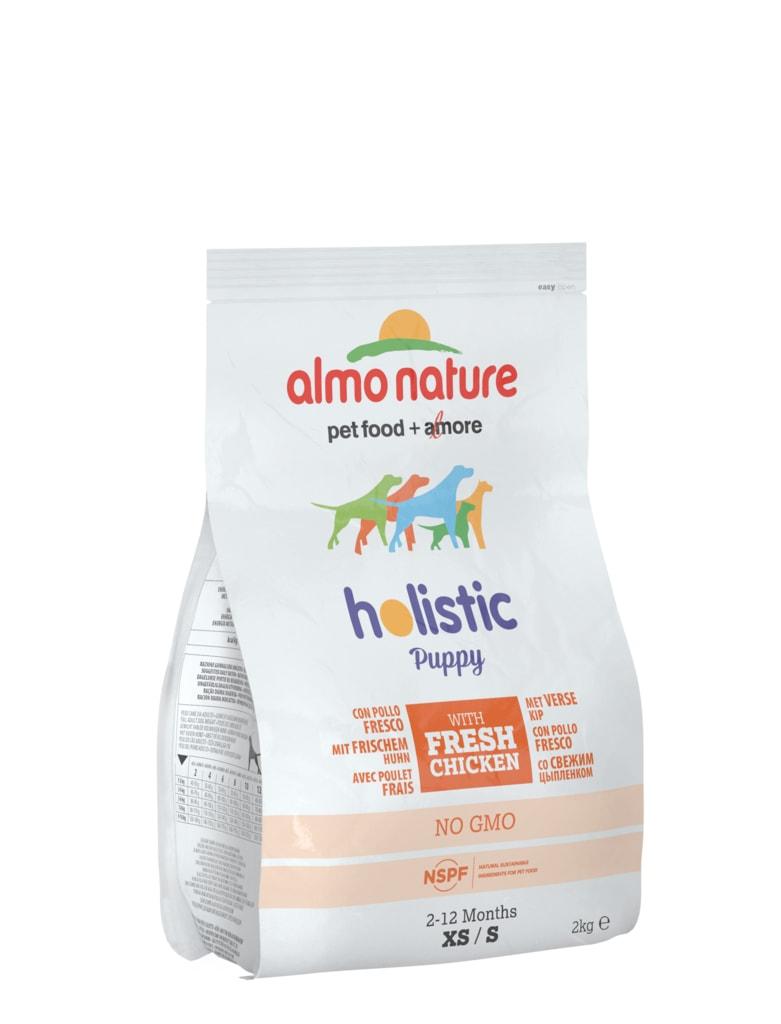 Almo Nature Holistic DRY DOG - S - Štěně - Kuře a rýže 2kg
