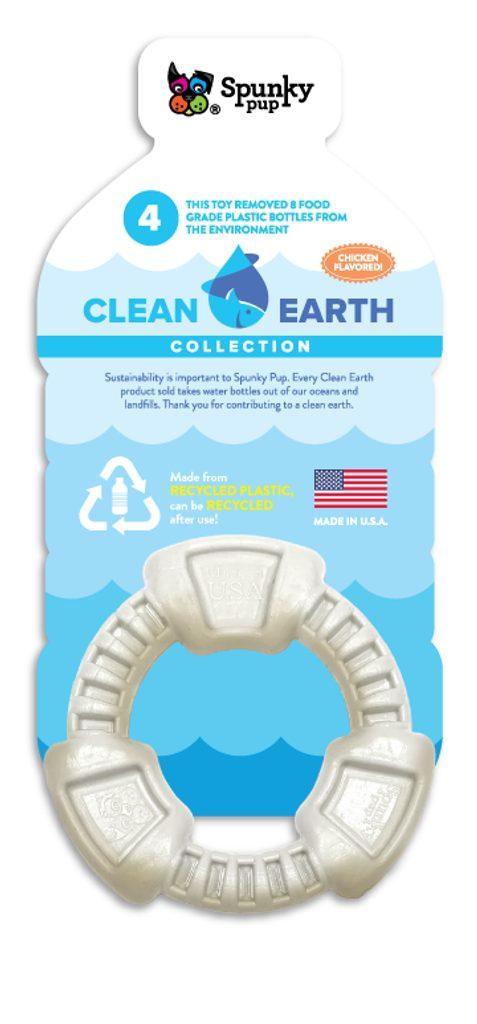 "Kroužek z recyklovaného plastu ""Clean Earth"" Spunky Pup"