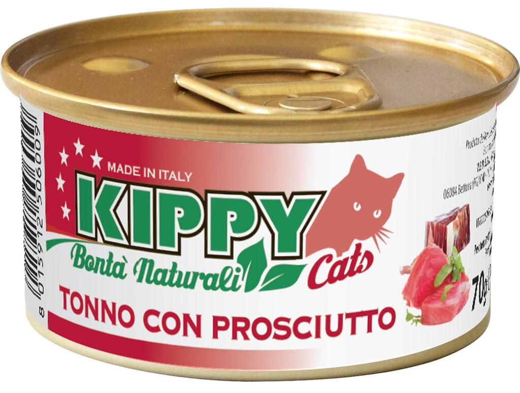 KIPPY Naturali kuřecí s šunkou 70g