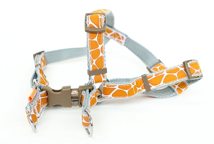 "Aminela postroj - série G ""Giraffe"" 20mm obvod 44 - 72cm"