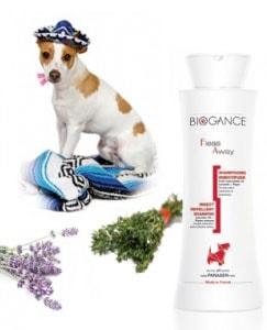 Biogance šampón Fleas away - DOG Antiparaz. 250ml