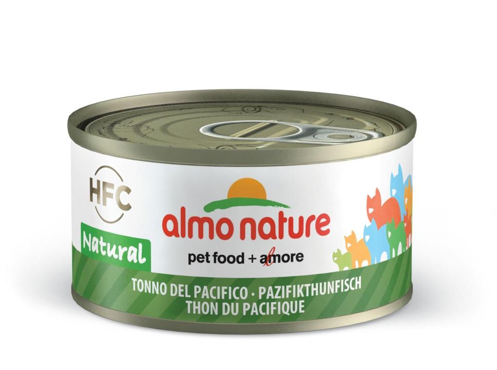Almo Nature HFC WET CAT- Pacifický tuňák 70g výhodné balení 24ks