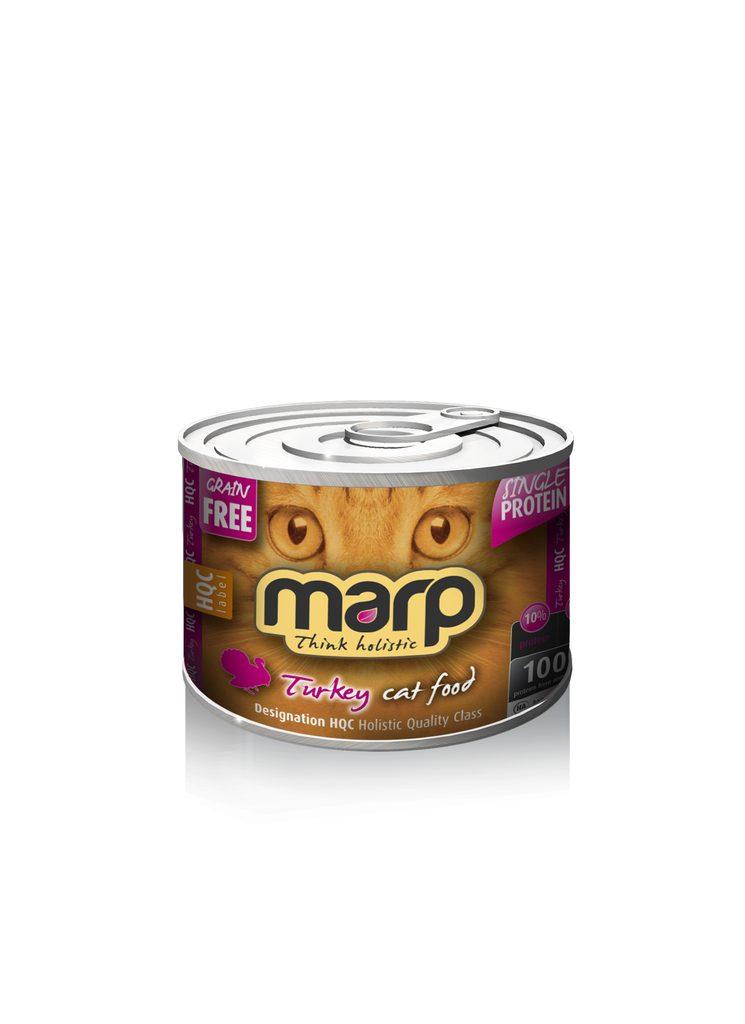 Marp Turkey konzerva pro kočky s krůtou 200g
