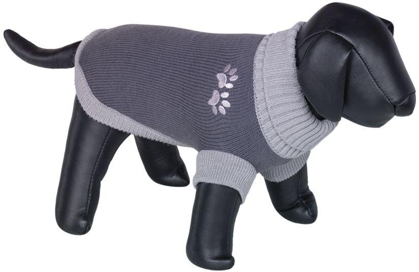 Nobby PAW svetr pro psy s tlapkou šedá 44cm