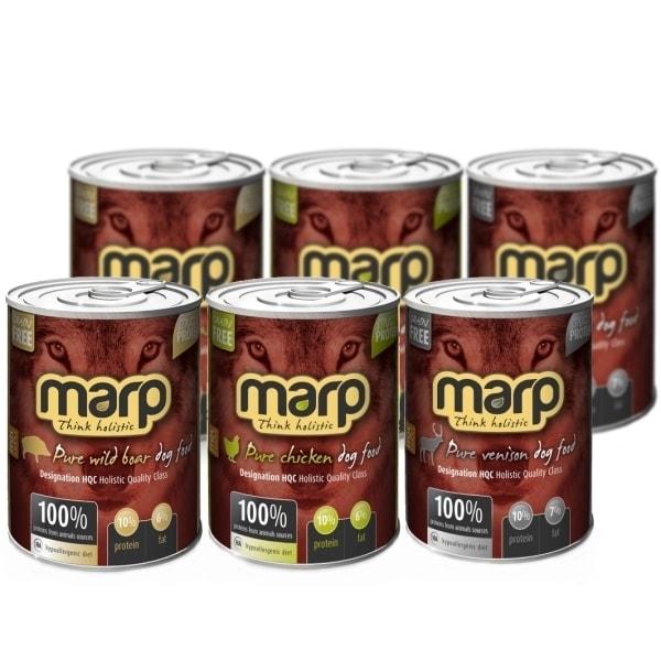 Ochutnávkový set masových konzerv Marp 6x400 g
