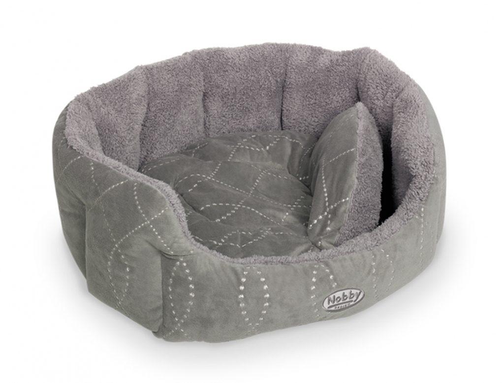 Nobby Ceno pelíšek šedý 86x70x24cm