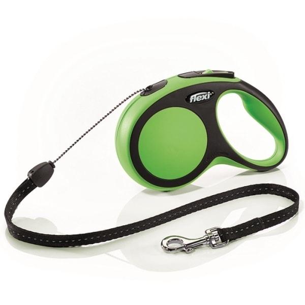 Flexi New Comfort S vodítko lanko 8m/12kg zelená