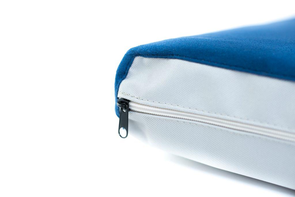 Potah na matraci Aminela - 80x60x10cm Half and Half modrá/světle šedá
