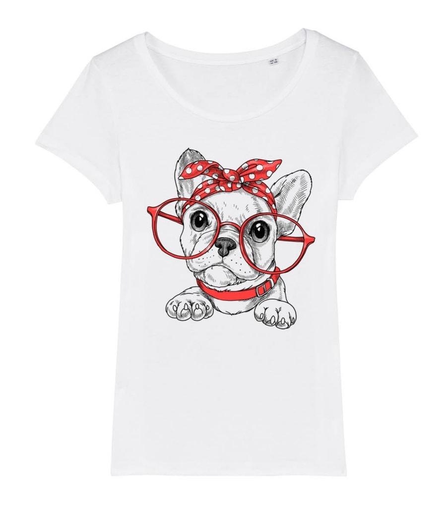 Dámské tričko buldoček