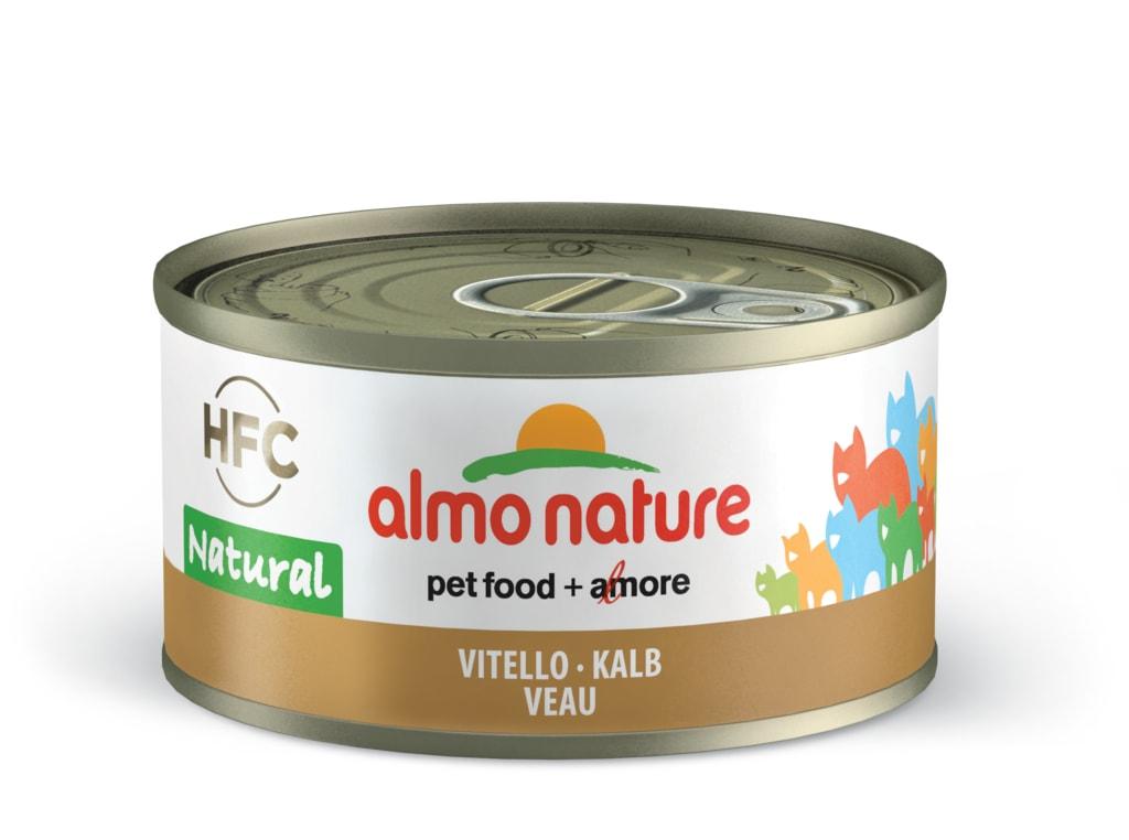 Almo Nature HFC WET CAT- Telecí 70g výhodné balení 24ks