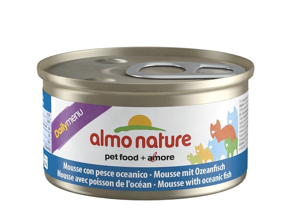 Almo Nature Daily Menu WET CAT - Pěna s mořskými rybami 85g výhodné balení 24ks