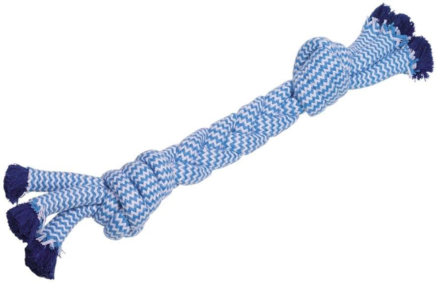 Nobby hračka pro psy lano modré 300g 46cm