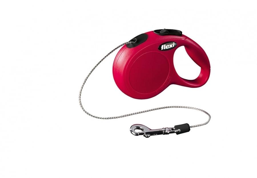 Flexi NEW CLASSIC XS lanko 3m/8kg červená