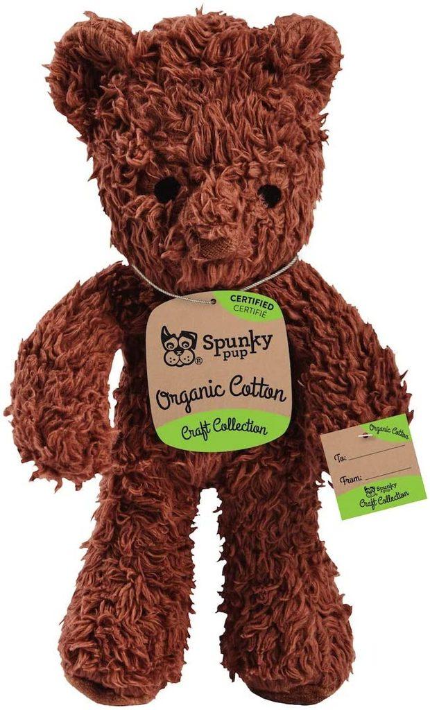 Medvěd z organické bavlny Spunky Pup