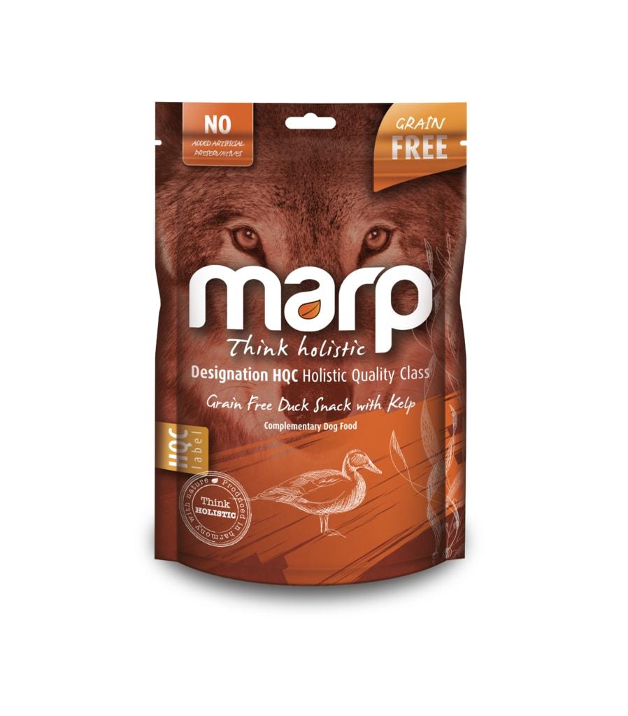Marp Holistic – Kachní pamlsky s kelpou bez obilovin 150g