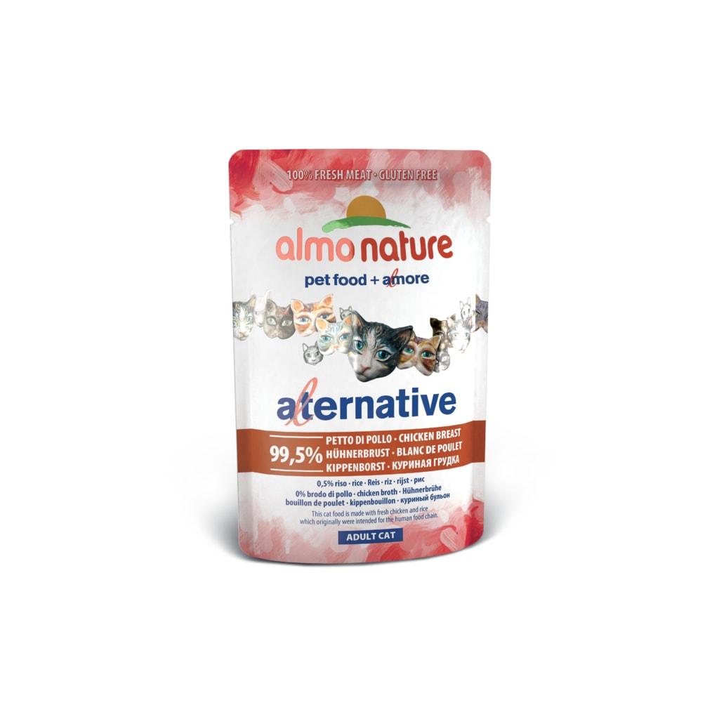 Almo Nature Alternative WET CAT - Kuřecí prsa 55g