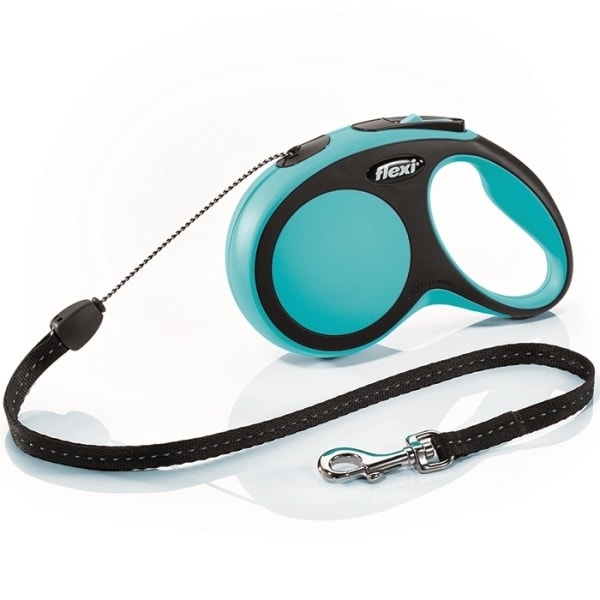 Flexi New Comfort S vodítko lanko 8m/12kg modrá