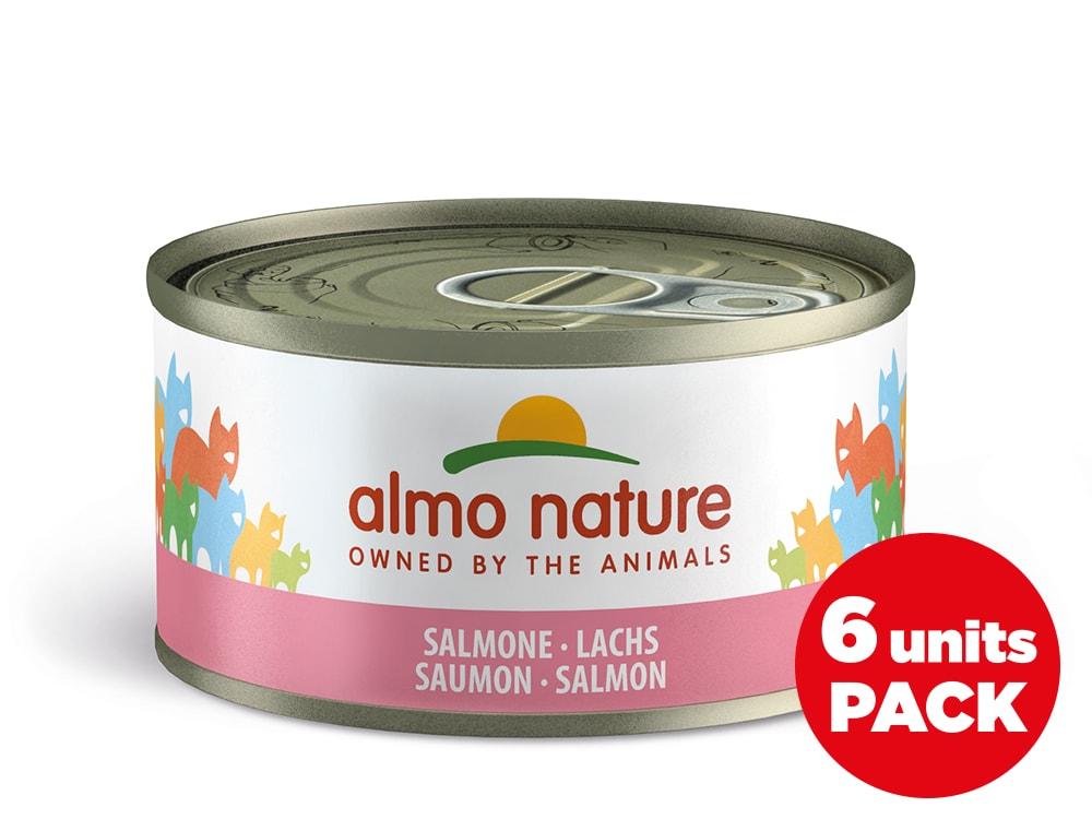 Almo Nature HFC Megapack Losos v želé 6x70g