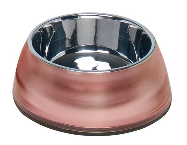 Nobby Diva Clear miska v červeném pouzdře 500ml