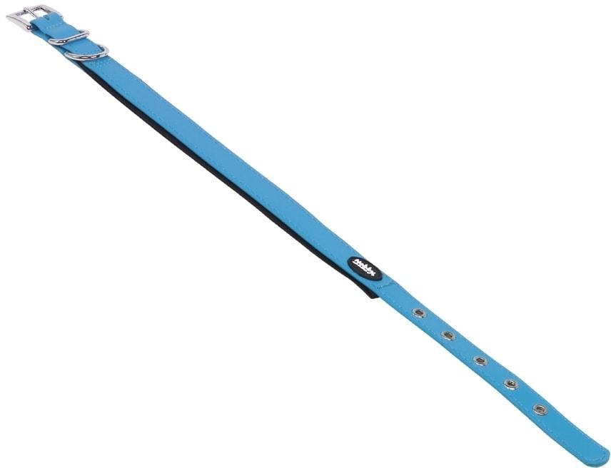 Nobby COVER obojek pvc světle modrý M 40-50cm