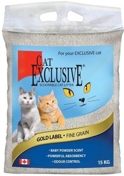 Intersand kočkolit Exkluzive Gold 15 kg