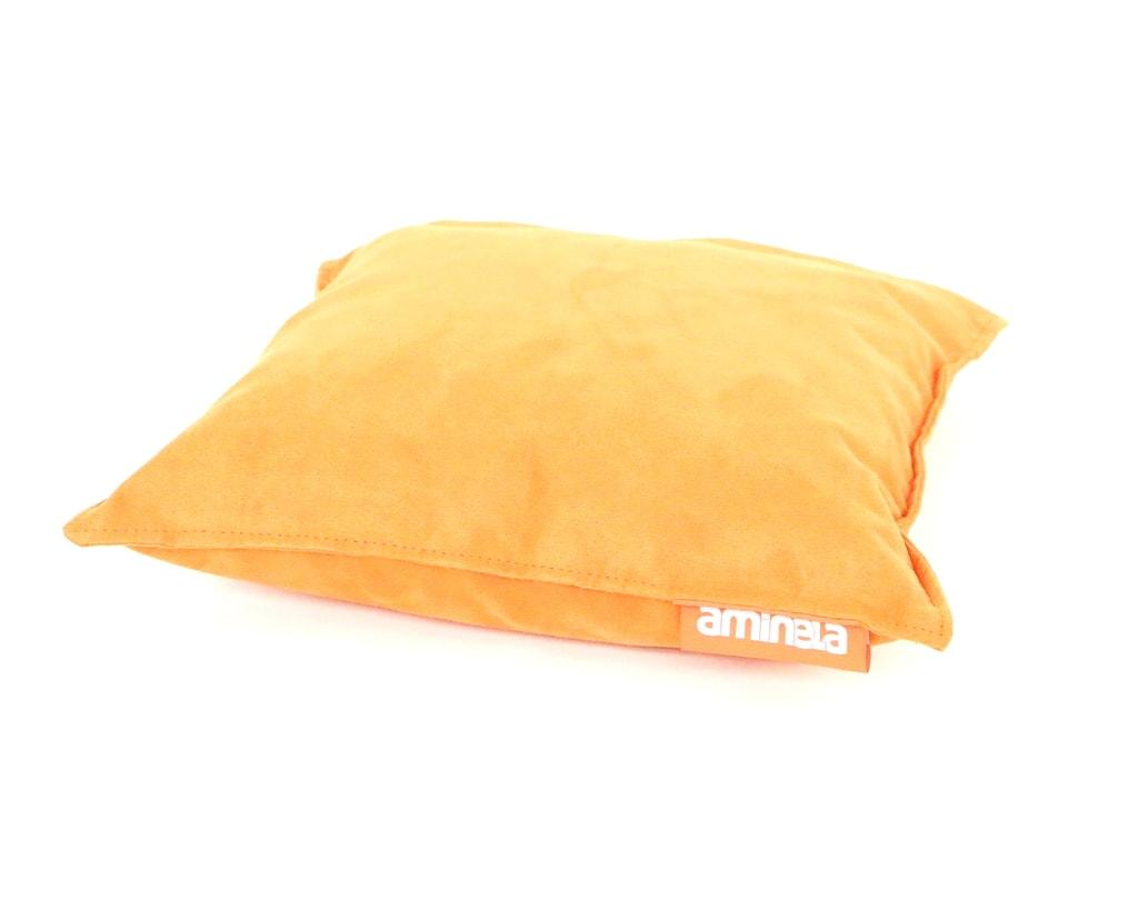 Aminela polštářek 40x40cm oranžová