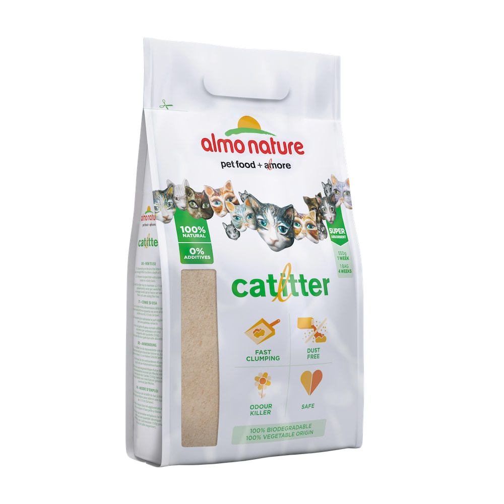 Kočkolit Almo - 100% ekologický kočkolit
