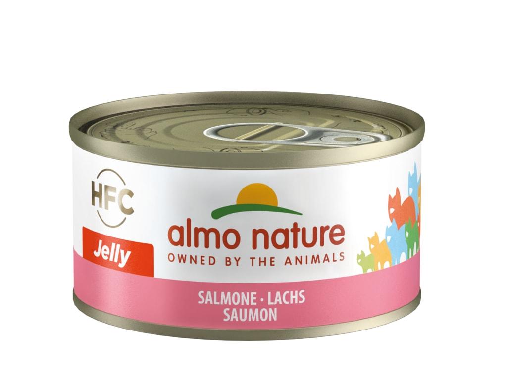Almo Nature HFC WET CAT- Losos 70g
