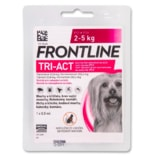 Frontline TRI-ACT spot-on pro psy XS (0,5ml) 2-5kg