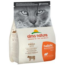 Almo Nature Holistic DRY CAT - Adult Hovězí a rýže 2kg