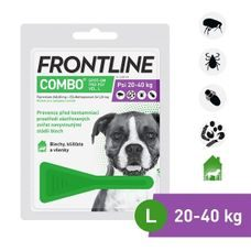 Frontline Combo Spot-on Dog L (2,68ml) 20-40kg