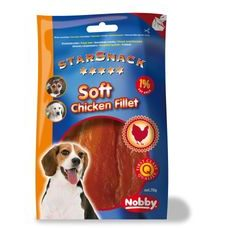 Nobby StarSnack Soft Chicken Fillet kuřecí filety 70g
