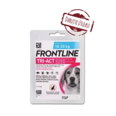Frontline TRI-ACT spot-on dog M (1x2ml) 10-20kg (ÚTULEK)