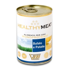 HEALTHYMEAT monoprotein buvol a brambory 400g sleva 20% exp 28/5/2021