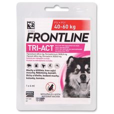 Frontline TRI-ACT spot-on pro psy XL (1x6ml) 40-60kg exp 06/2020 sleva 20%