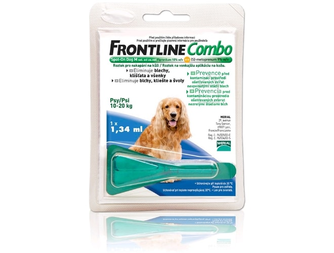 Frontline Combo Spot-on Dog M (1,34ml) 10-20kg