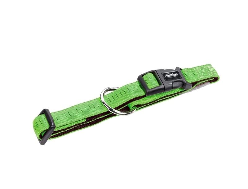 Nobby Soft Grip obojek - zelená 20-30cm/10mm