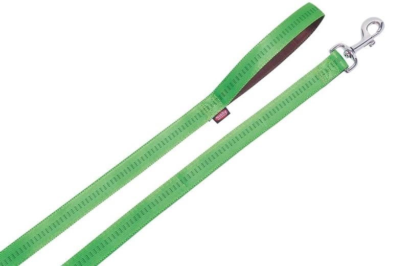 Nobby Soft Grip vodítko - zelená 120cm/25mm