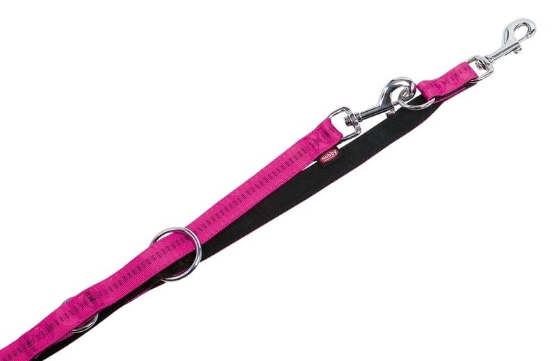 Nobby Soft Grip vodítko přepínací - růžová 200cm/25mm