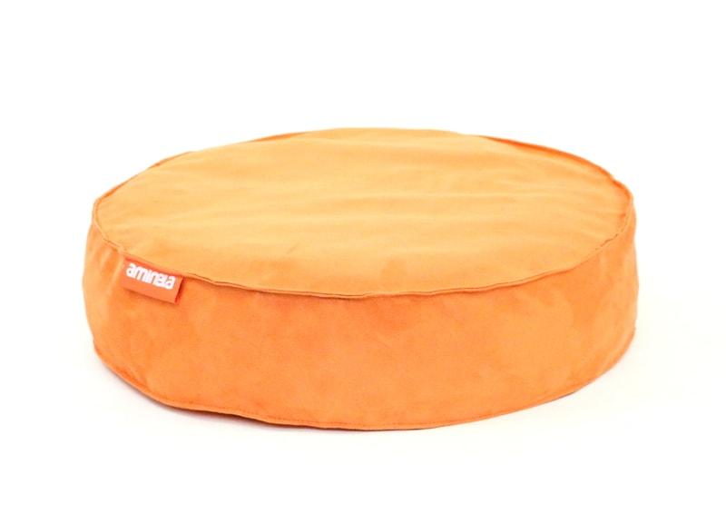 Kulatý pelíšek Aminela Full comfort 50/12cm oranžová