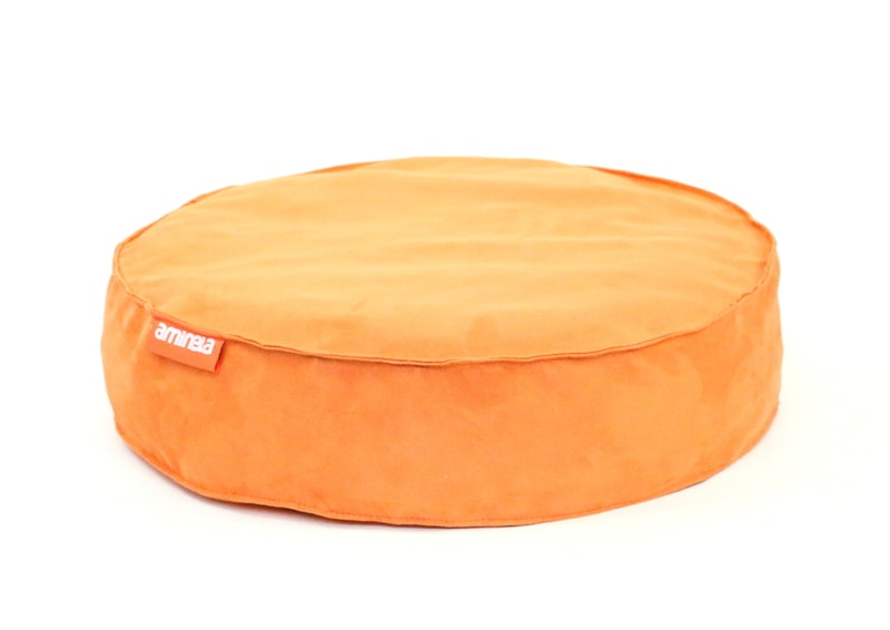 Kulatý pelíšek Aminela Full comfort 60/15cm oranžová