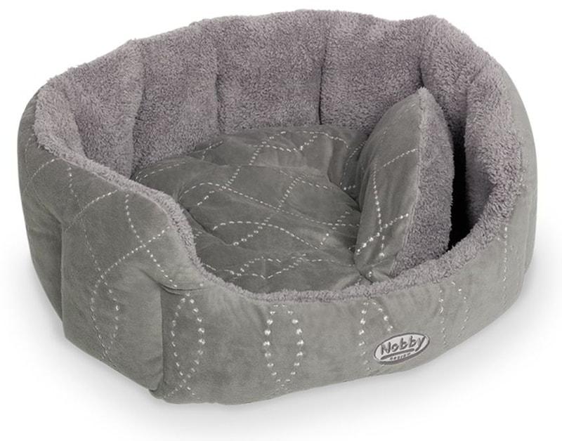 Nobby Ceno pelíšek - šedá 55x50x21cm