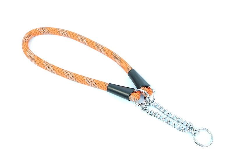 Aminela obojek lano - Serie G, velikost 14x60, oranžová/šedá