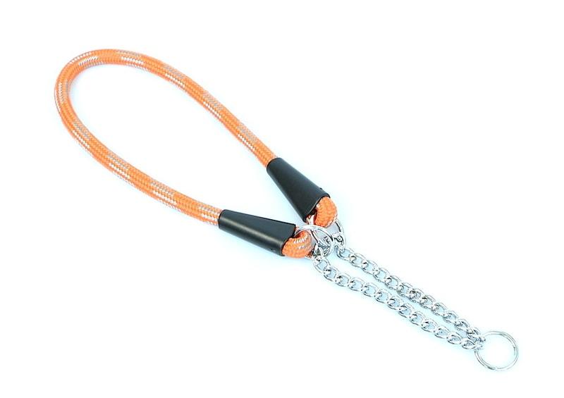 Aminela obojek lano - Serie G, velikost 10x50, oranžová/šedá