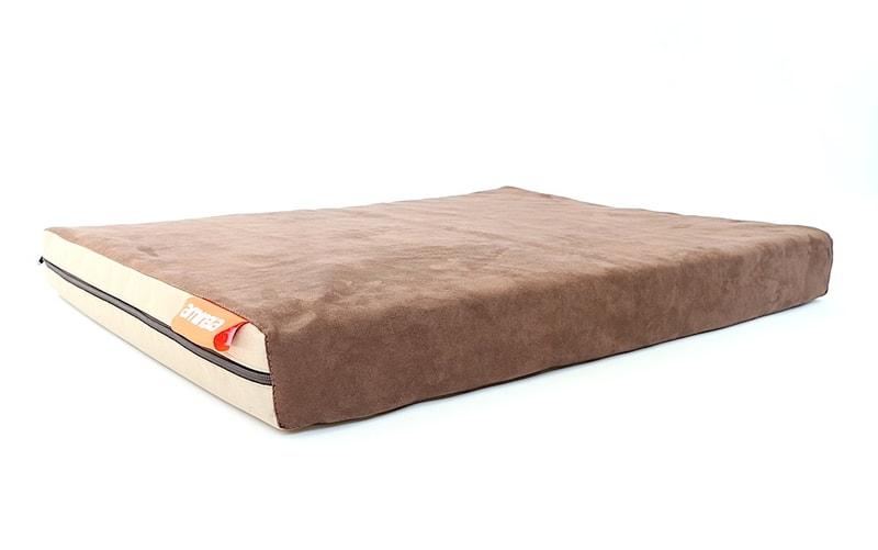 Matrace Aminela - 80x60x10cm Half and Half hnědá/béžová