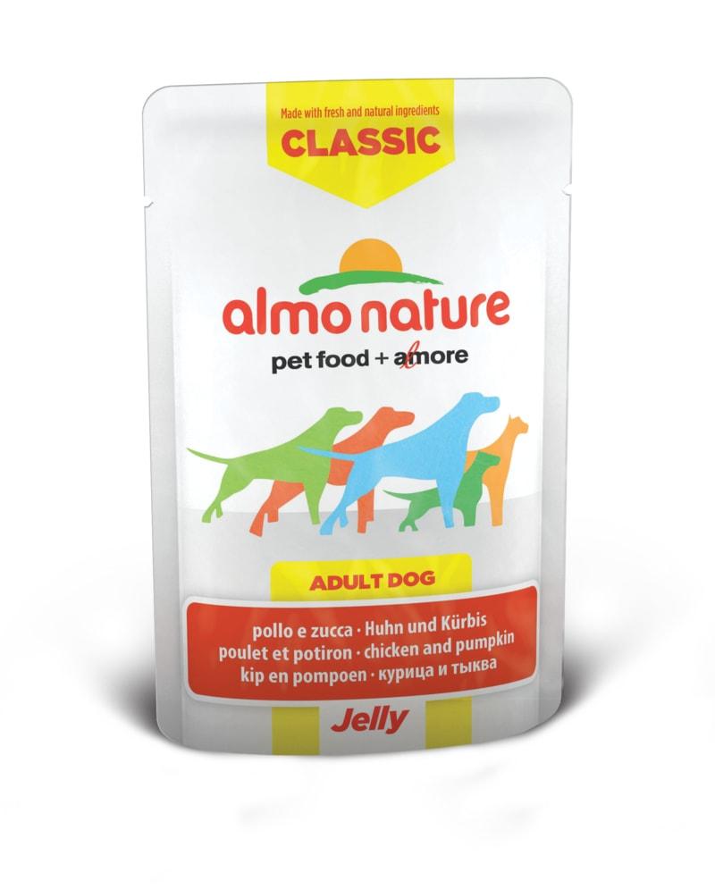 Almo Nature HFC Jelly WET DOG - Kuře a dýně v želé 70g