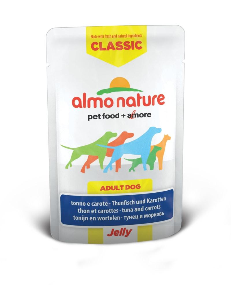 Almo Nature HFC Jelly WET DOG - Tuňák a mrkev v želé 70g
