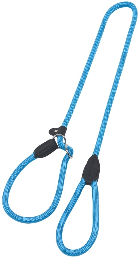 Nobby FUN Royal vodítko s obojkem 170cm / 9mm světle modrá