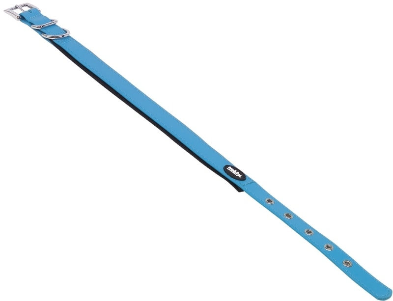 Nobby COVER obojek pvc světle modrý M/L 45-55cm