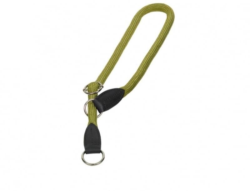 Nobby FUN Royal kulatý polostahovací obojek zelená 50cm